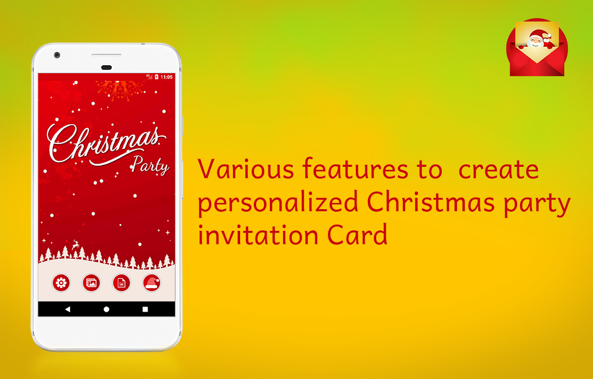Christmas Party Invitations Card Maker Android Apps Appagg