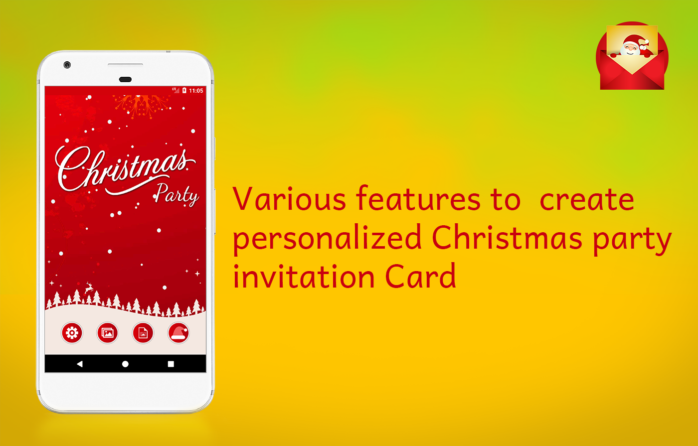 Christmas Party Invitations Card Maker - Android Apps on Google Play