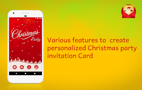 Christmas party invitations card maker apps on google play screenshot image stopboris Image collections