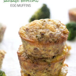 Sausage Broccoli Egg Muffins