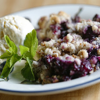 Blueberry (or Apple) Crisp