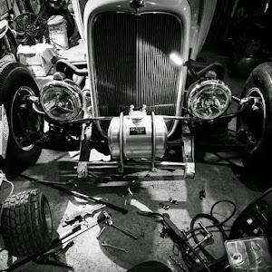 モデルB  1932年式 デュースクーペのカスタム事例画像 コウイチロー@KamikazeSpeedRodさんの2019年04月02日00:16の投稿