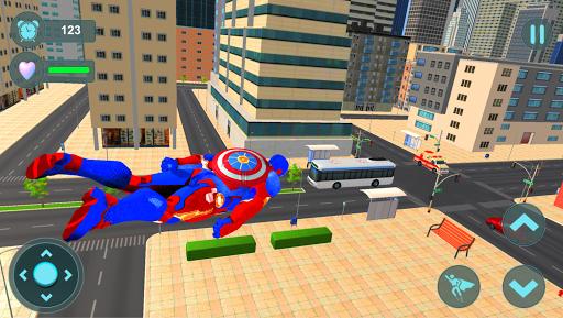 Super Captain Robot Flying: City Survival Mission for PC