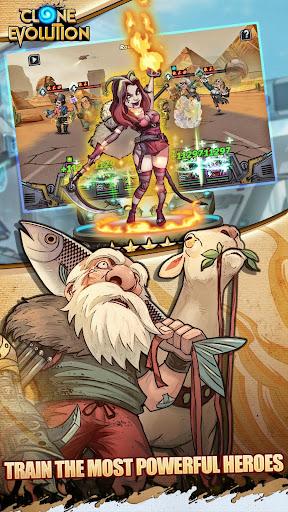 Clone Evolution: RPG Battle-Future Fight Fantasy 1.3.2 Cheat screenshots 5