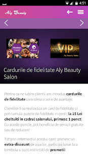Aly Beauty Salon- screenshot thumbnail