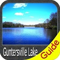 Lake Guntersville Offline GPS Fishing Chart icon