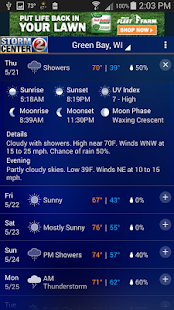 WBAY RADAR - StormCenter 2 - screenshot thumbnail