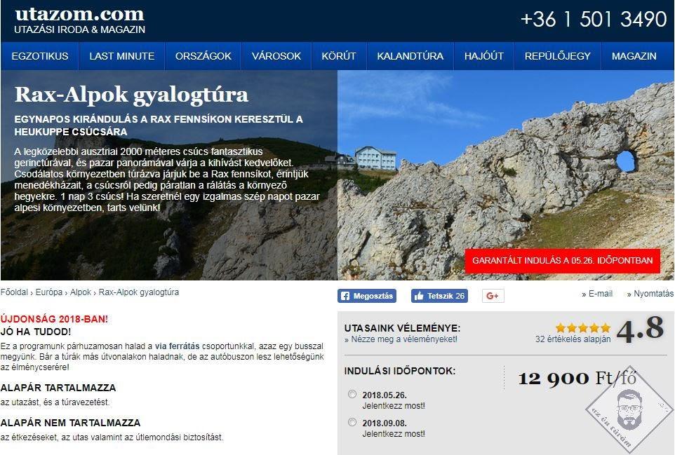 KÉP / Utazom.com, már regisztráltunk