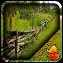 Rustic Cedar Fence Design icon