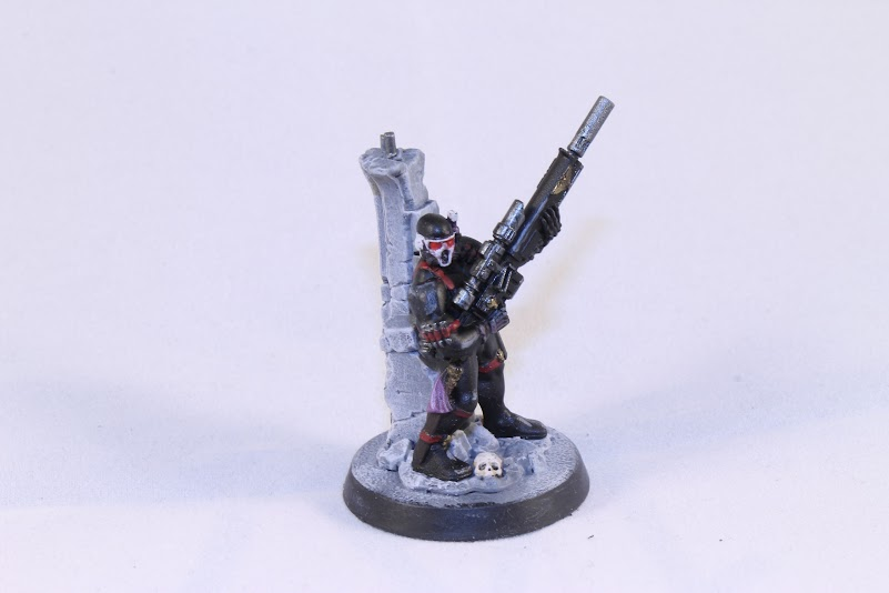 Vindicare Assassin, front view