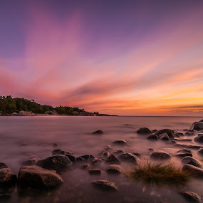 Elements  by Patrick Pedersen - Landscapes Waterscapes ( water, nd110, sky, waterscape, colors, long exposure, landscape, skies, norway )