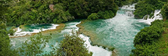 Photo: Wodospady na rzece Krka