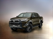 The new 2020 Toyota Hilux.
