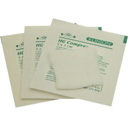Kompress Gv 8L 7,5x7,5C 100/kt