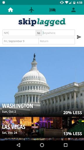 Skiplagged, Flights and Hotels Screenshot