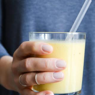 Yellow Sunshine Shake with Mango & Banana