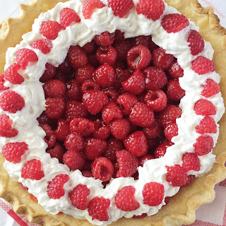 Raspberry Jell-O Pie