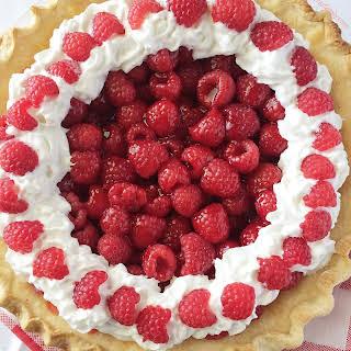 Raspberry Jell-O Pie.