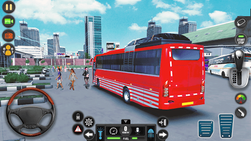 Modern Bus Simulator Drive 3D: New Bus Games Free apkmr screenshots 12