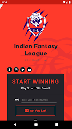 INDIAN FANTASY LEAGUE APK screenshot thumbnail 1