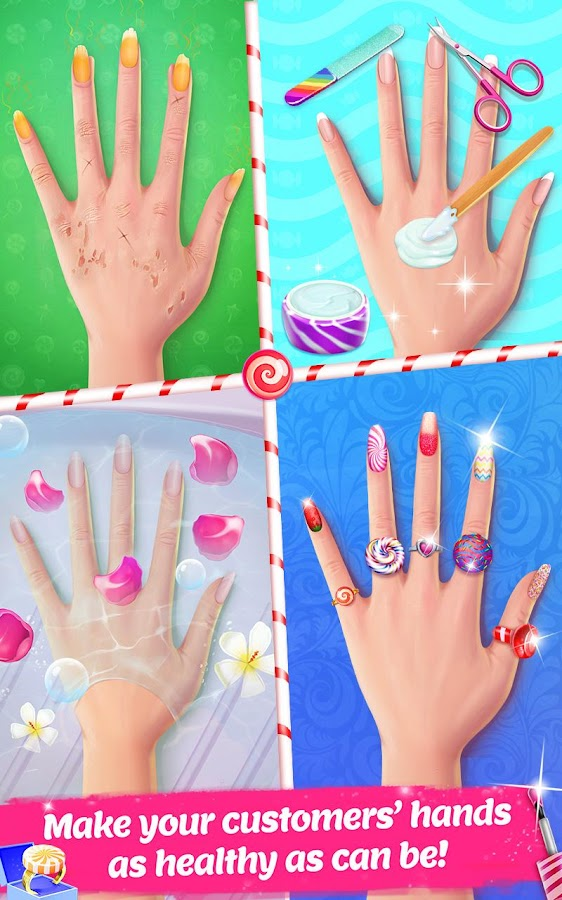 Candy nail art sweet fashion android apps on google play candy nail art sweet fashion screenshot prinsesfo Choice Image
