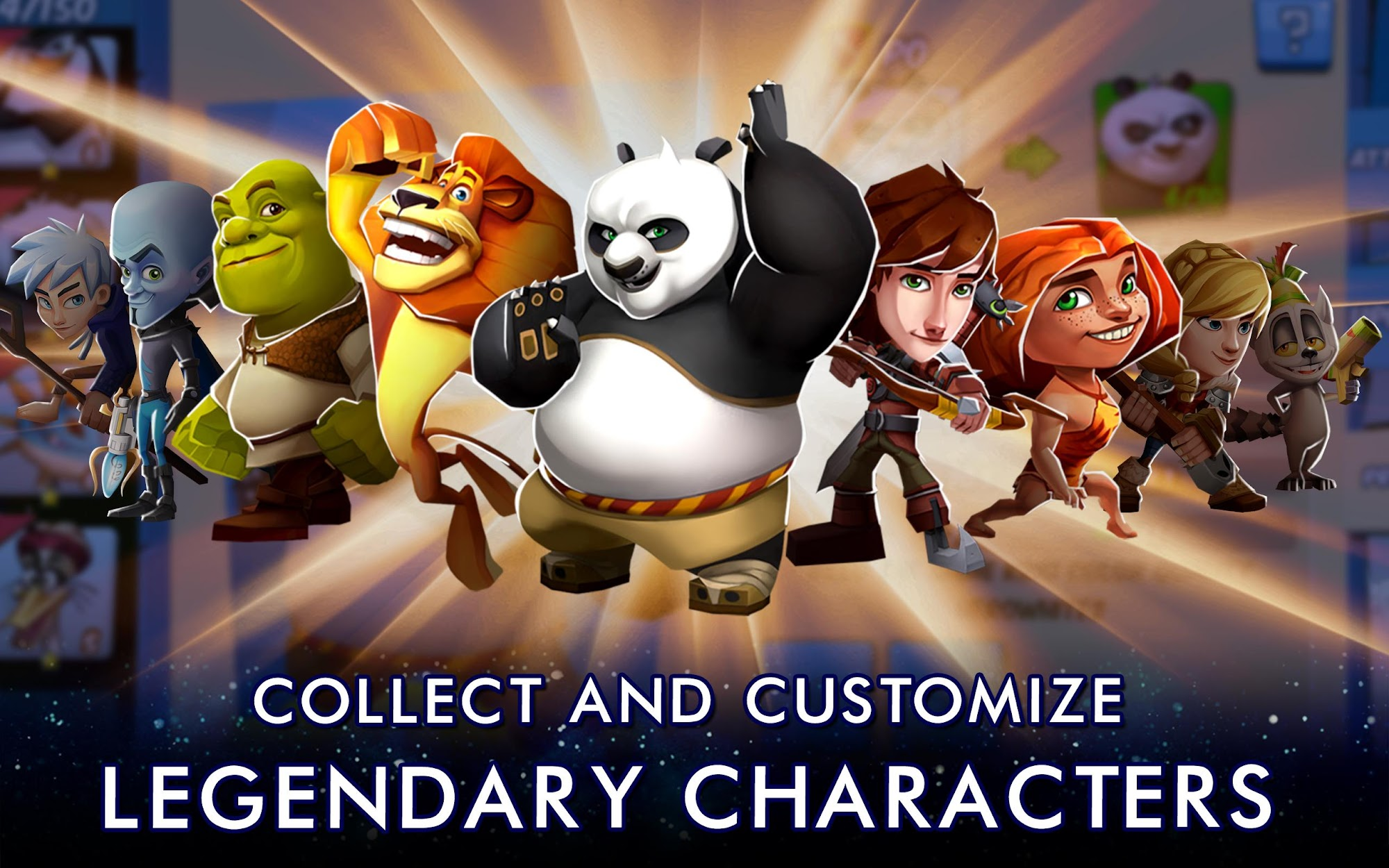 DreamWorks Universe of Legends screenshot #7