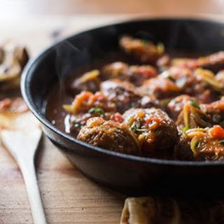 Curried Sausages.