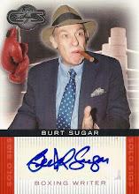 Photo: Bert Sugar 2008 Topps Co-Signers Solo Sigs auto