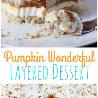 Pumpkin Wonderful Dessert