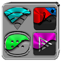 Half Light Icon Pack Free icon