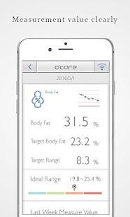 BodyFit Monitor – o'care2.0 - náhled