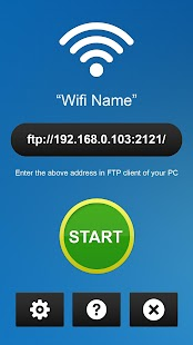 WiFi File Transfer - FTP- screenshot thumbnail