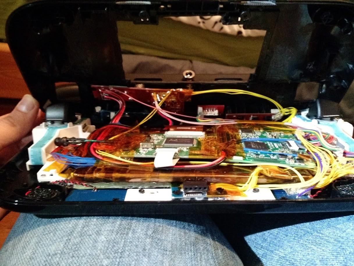 Pi 3 Wii U Gamepad Finished Mostly Sudomod Motherboard Wiring Diagram Image