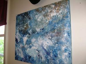 Photo: 14x22 Abstract Splish Splash ($40)