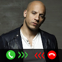 Vin Diesel Call You! Fake Video Call Prank icon