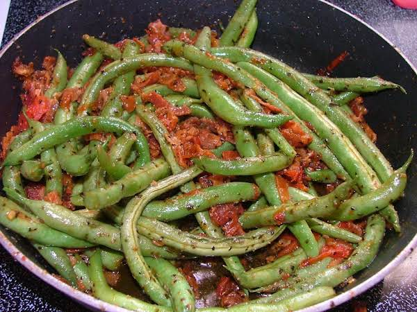 Fresh Green Bean Saute Recipe