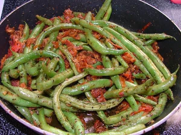 Fresh Green Bean Saute