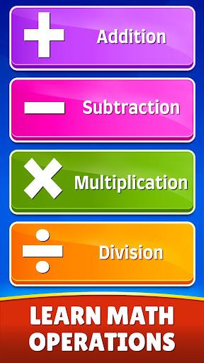 Math Games - Addition, Subtraction, Multiplication 0.0.5 screenshots 3