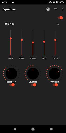 equalizer sound booster-volume boost-bass boost screenshot 1