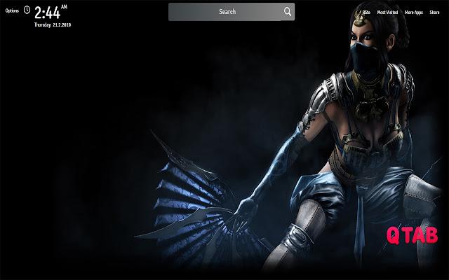 Mortal Kombat X Game Wallpapers New Tab