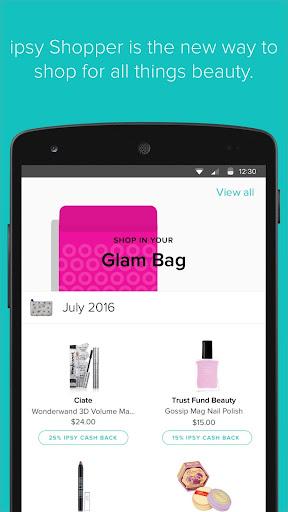 ipsy Shopper Screenshot