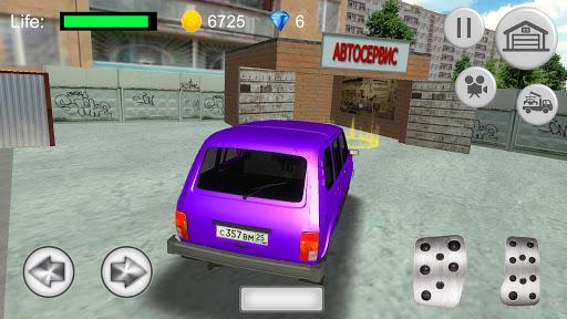 Russian SUV Simulator apkmr screenshots 3