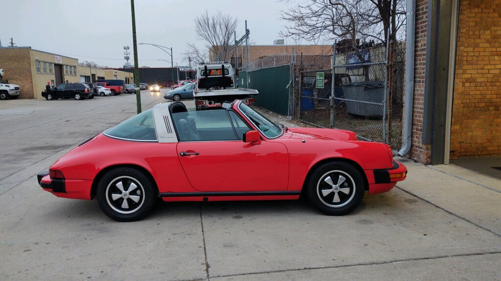 Porsche 911 911s Targa Hire Brooklyn