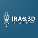 Iraq 3D icon
