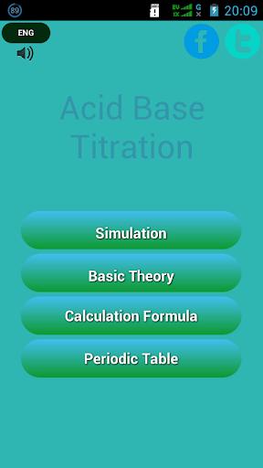 Acid - Base Titration