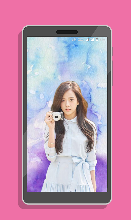 Unduh Jisoo Blackpink Wallpapers Kpop Fans Hd Apk Versi