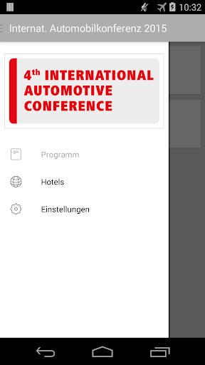Internat. Automobilkonferenz