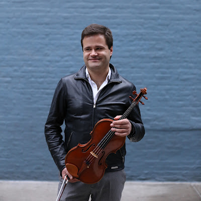 Moving on up: Milan Milisavljević is MET's new Principal Viola