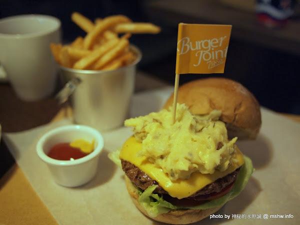 台中Burger Joint 7分So美式廚房朝富店@西屯捷運BRT秋紅谷 : 環境舒適,價格佛心的經典風味:)