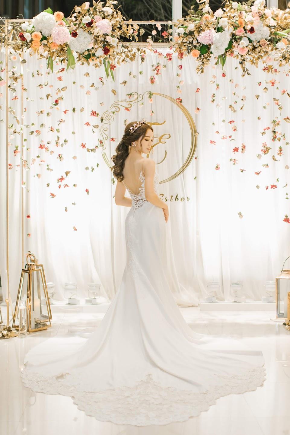 在 台中 的 心之芳庭 婚禮 場地舉行陽光正好的美式 婚禮 , 是每位新娘夢寐以求的西式婚禮樣式!